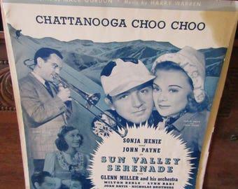 Chatanooga Choo Choo Sheet Music