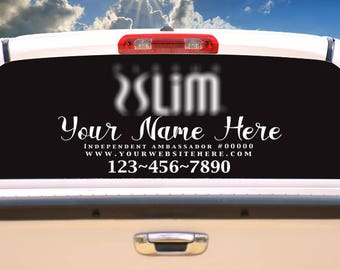 Plexus Slim Business logo- Car Vinyl Decal