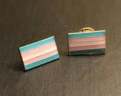 Transgender Pride Flag Lapel Pin