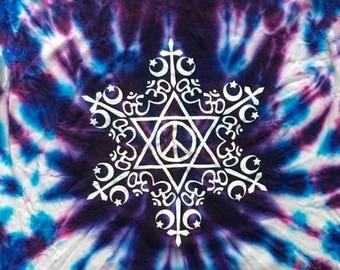 D.I.Y. Tie Dye coexist T-shirt