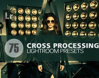 75 Cross Processing Lightroom Presets bundle INSTANT DOWNLOAD for for Wedding,Fashion,Photographer,Photography(Presets for Lightroom 5,6,CC)