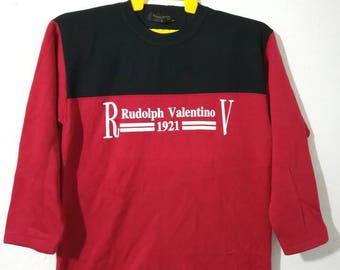 Rare Rudolph valentino sweatshirt M size