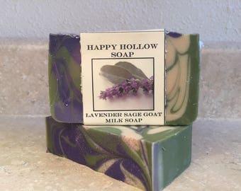Lavender Sage Goat Milk Soap