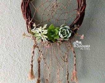 Dreamcatcher, Succulent Wreath, macramé