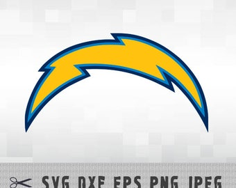 San Diego Chargers SVG PNG DXF Layered Vector Cut File Silhouette Studio Cameo Cricut Design Template Stencil Vinyl Decal Transfer Iron on