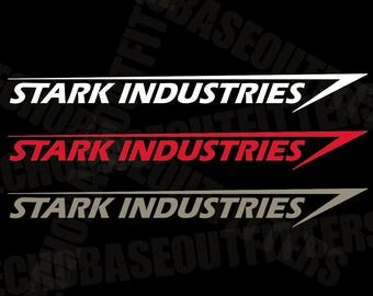 Stark Industries LARGE vinyl decal