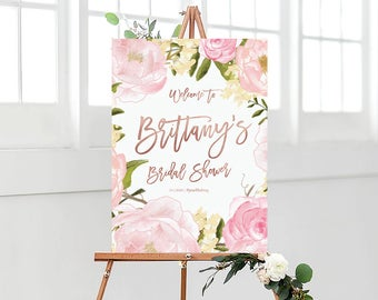 Bridal Shower sign, Bridal Shower Welcome Sign, Bridal Shower decoration, PRINTABLE Welcome sign, Bridal shower welcome sign - US_BS0104b