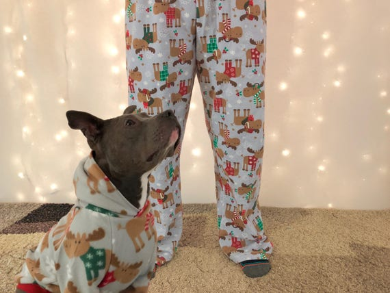 Matching Dog Human Pajamas