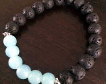 Sky's the limit mala bracelet