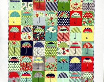 Raincheck Quilt Pattern by Thimble Blossoms