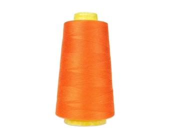1 roll Overlocknähgarn color orange 3000 yard
