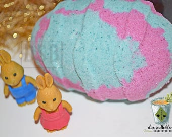 Unique easter gift etsy easter gift ideas for kids easter basket ideas bath bomb with toy easter negle Images