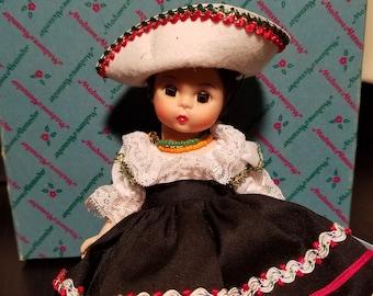 Vintage Madame Alexander Doll - Mexico 576