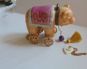 Rolli the circus bear trinket box