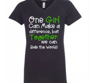 One Girl Can Make A Difference