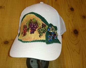 Wine tasting ballcap