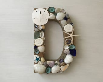 Beach Decor, Nautical Decor, Shell Letters, Home Decor, Wedding, Seashell Decor, Custom Gifts, Custom Letters, Coastal Shell Beach Decor