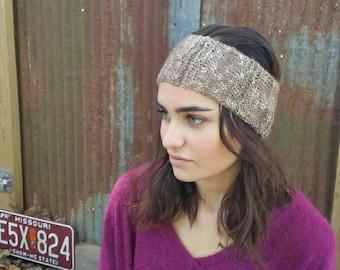 Brooklyn earwarmer/ thin earwarmer / winter accessories/ thin headband/ turban/ knit earwarmer