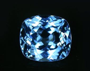 15.27 ctw. blue topaz loose gemstone.