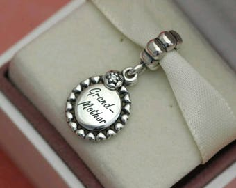 Pandora Loving Grandmother Dangle Charm/New/Ale/s925
