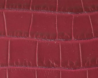 Coupon way Burgundy leather Croc (8790766)