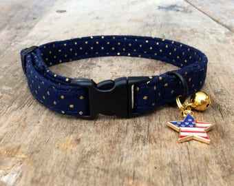 Sparky dotted cat collar