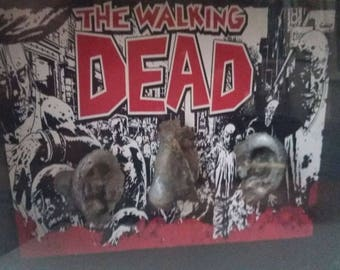 Walking Dead Screen Used Zombie Ears
