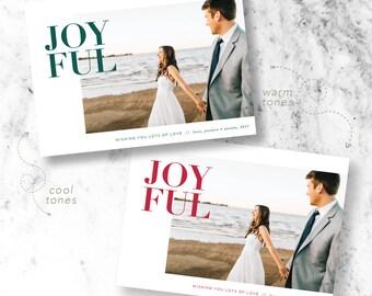 Full of Joy Holiday Photo Cards