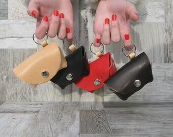 Dog Waste Bag Holder, Leather Poop Bag Holder, Gift for Dog Lovers,  Handmade Dog Supplies, Poop Bag Holder, Custom Dog Accessories