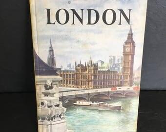 Vintage Ladybird Book. London book. Vintage book. Ladybird Book