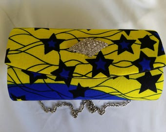 African Prints Clutch Purse, Ankara purse, chitenge purse