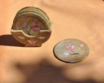 Soap Stone Coasters