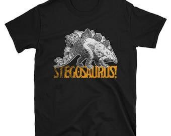 Love Stegosaurus Short-Sleeve Unisex T-Shirt