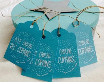 Little tags to accompany the gift of guests when your little ones birthday!