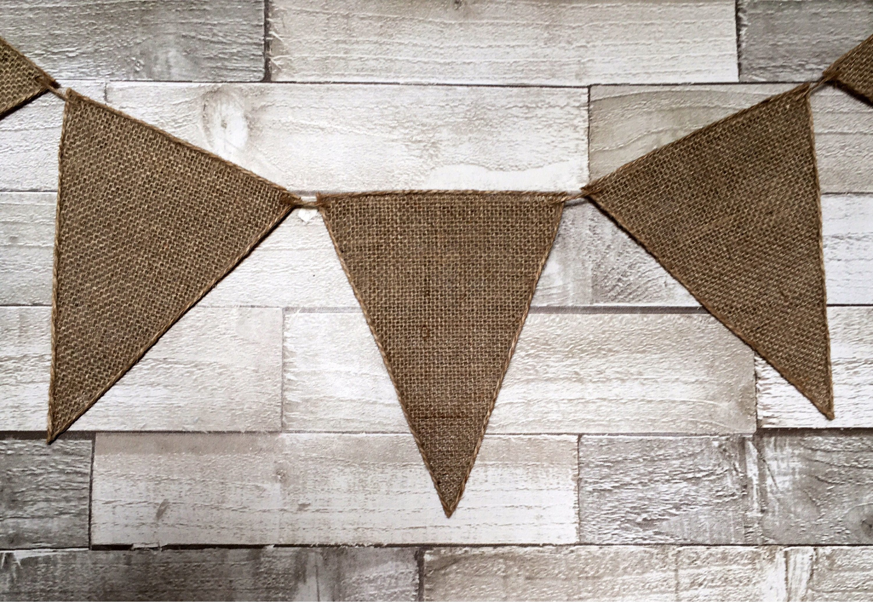 Hessian bunting rustic wedding bunting burlap bunting venue hessian bunting rustic wedding bunting burlap bunting venue decoration wedding decoration junglespirit Image collections