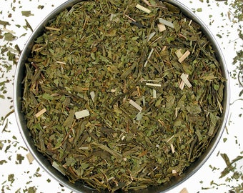 Fresh Mint & Sencha Green Tea, 50g/1.77oz/0.12lb, Organic Tea, Ecological leaf tea