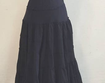 Western Boot Skirt. Cool and comfortable cotton skirt.