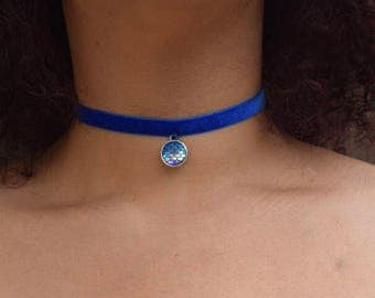 Blue Mermaid Choker