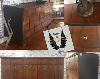 Apothecary cabinet / drawer Cabinet