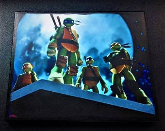Teenage Mutant Ninja Turtles Canvas Wall Art