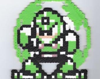 Gyro Man Perler (Mega Man 5)
