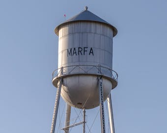 Marfa Texas Water Tower  Fine Art Print