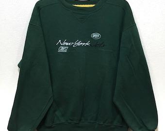 Vintage 90s Reebok New York Jets Sweatshirt