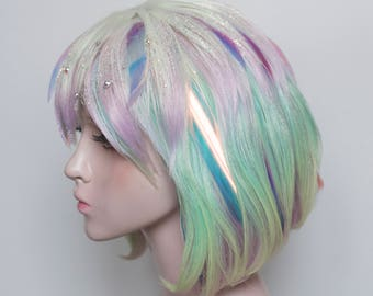 Ready to ship: Land of the Lustrous Diamond cosplay wig