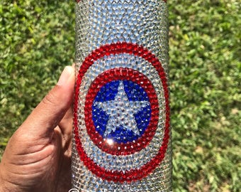 Captain America Stainless Steel Travel Mug Tumbler Cup