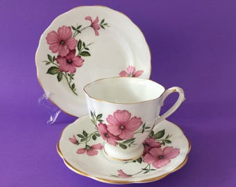 Vintage Royal Standard China Trio - Cup, Saucer & Plate