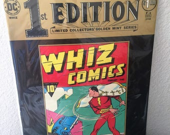 DC Comics 1st Edition Whiz Comics First Appearance Captain Marvel Golden Age