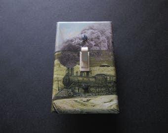 Decorative Light Switch Cover (Train)