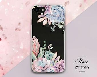iPhone X iPhone 8 plus phone Phone case Floral iPhone 7 plus Case iPhone 6 floral iPhone clear case iPhone 7 case clear iPhone 8 case iPhone