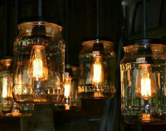 mason jar lighting fixture. mason jar chandelier barnwood lighting rustic wood vintage fixture t